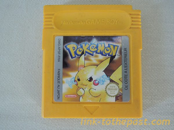 pokemon jaune game boy