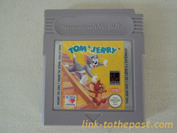 TOM et JERRY sur Game Boy cartouche 1