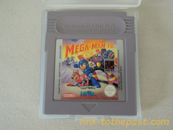 Megaman IV Game boy