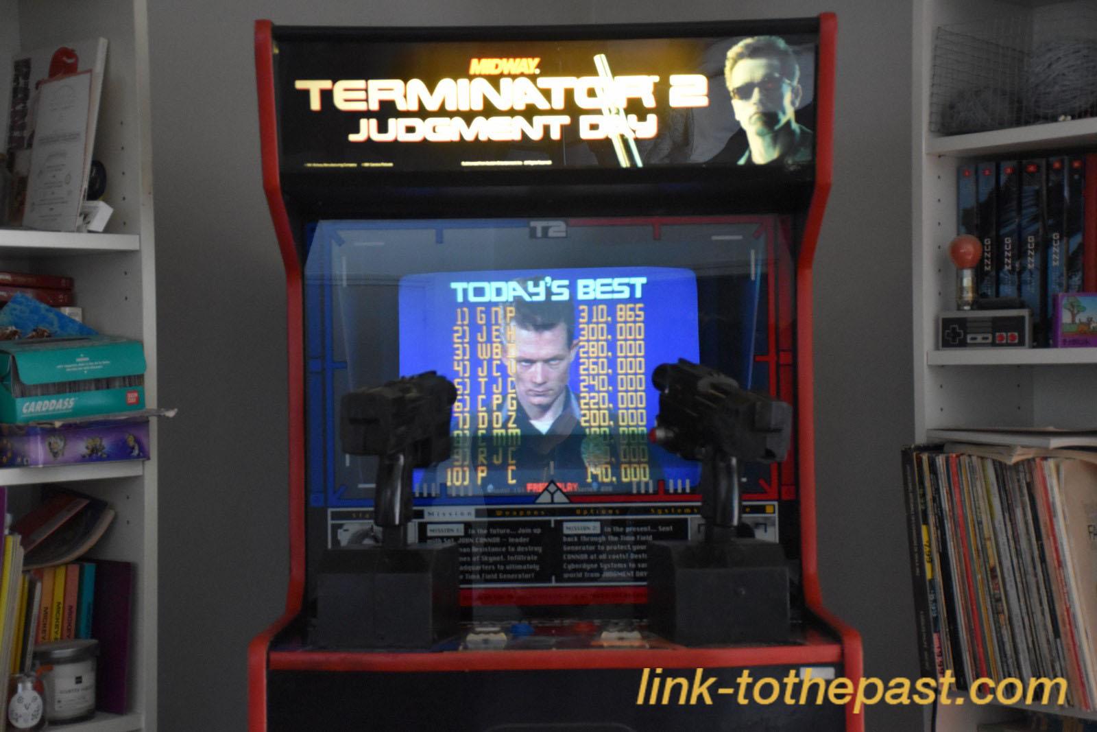 Je vends ma borne d'arcade Terminator 2 [VENDU] 1