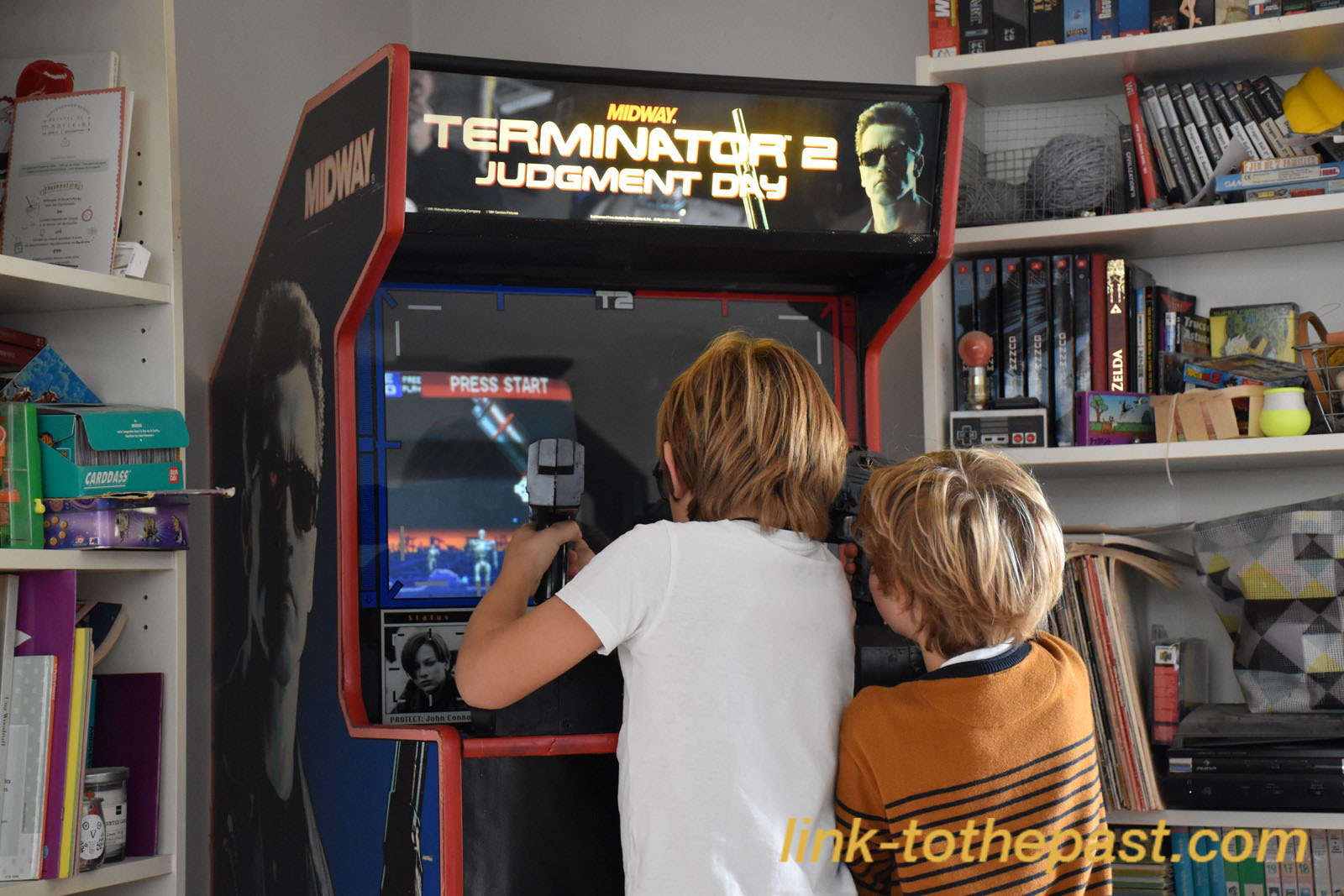 Playing Terminator 2 The Judgement Day
