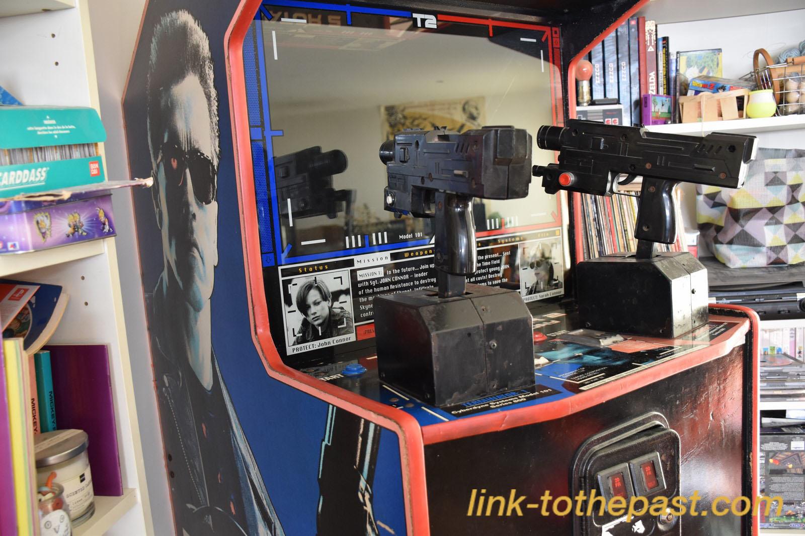 borne arcade terminator 2