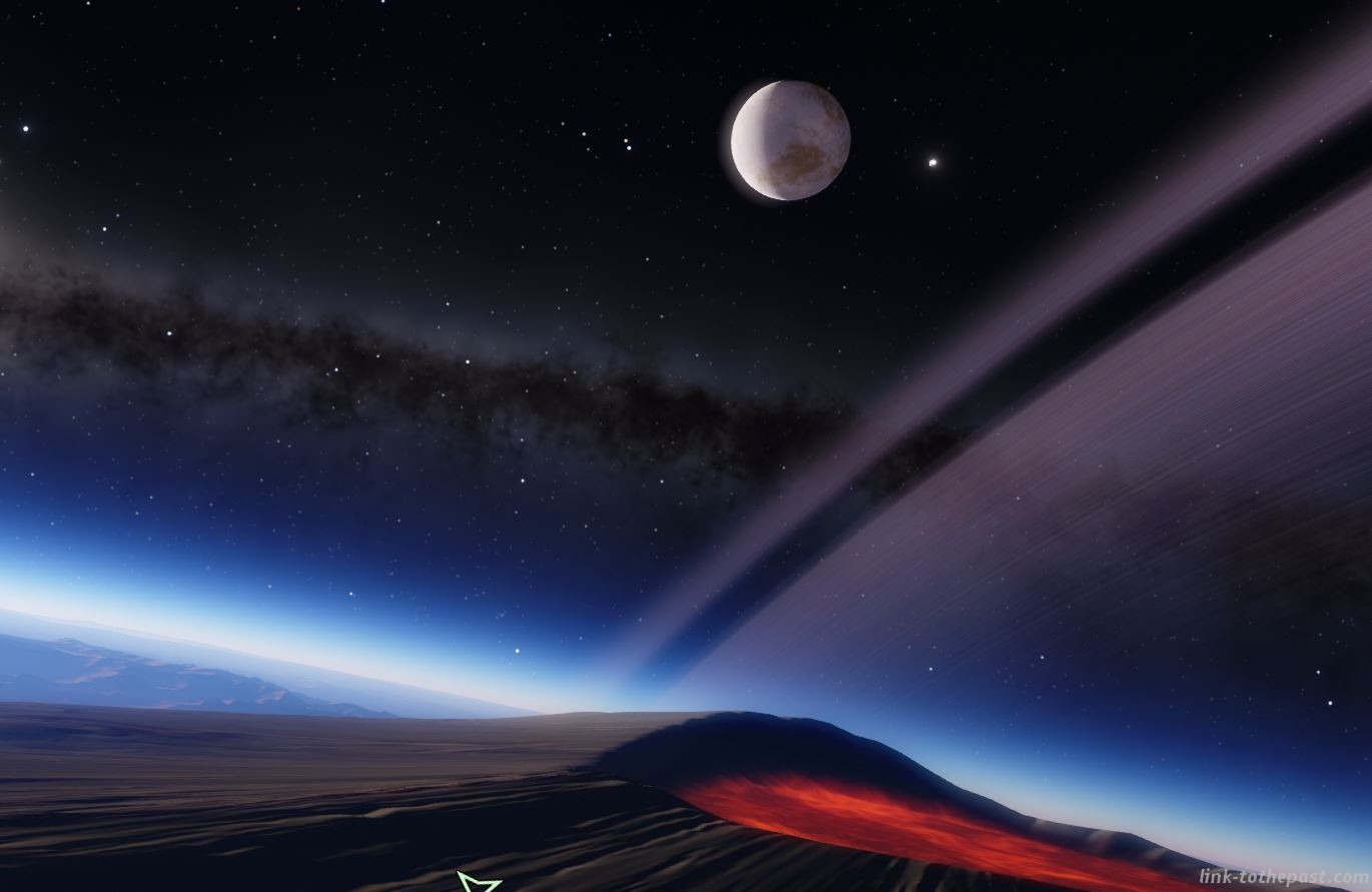 space engine volcan