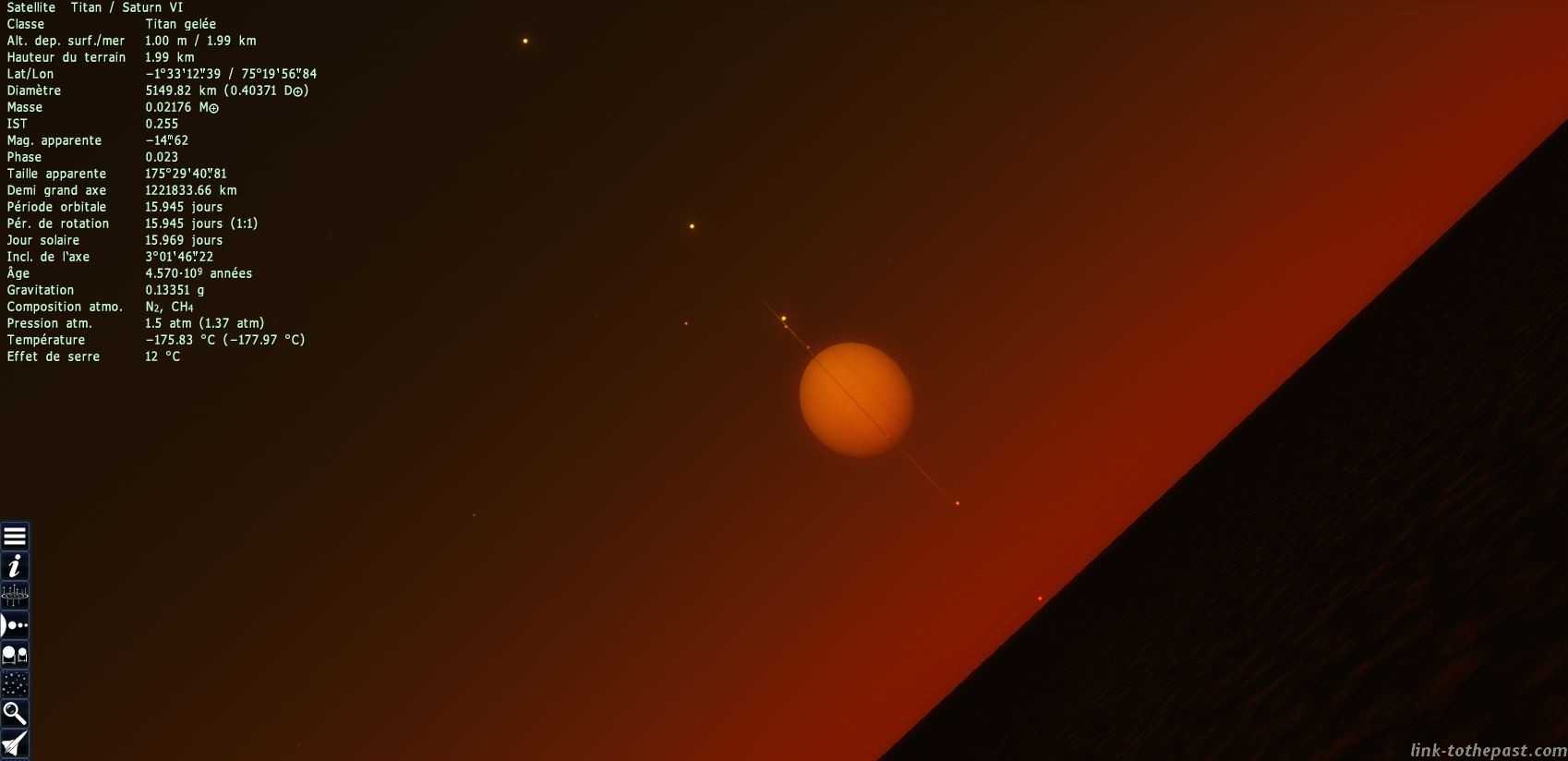 space engine saturne titan