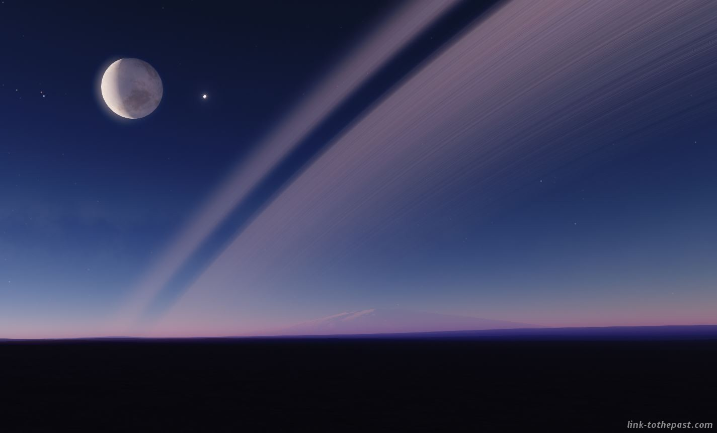 space engine planètes