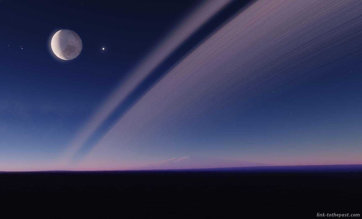 space engine planètes