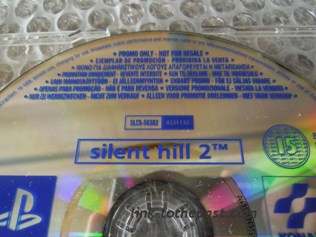 silent hill 2 ps2 promo presse