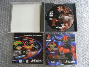 Iron & Blood ps1