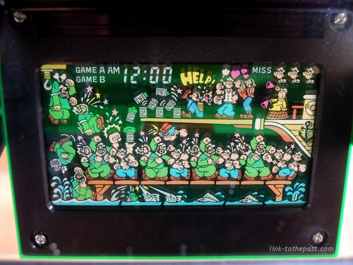 sprites game watch popeye panorama screen