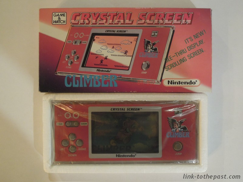 Game and Watch Climber Crystal screen
