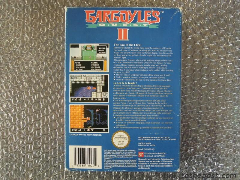 gargoyle's quest 2 nes