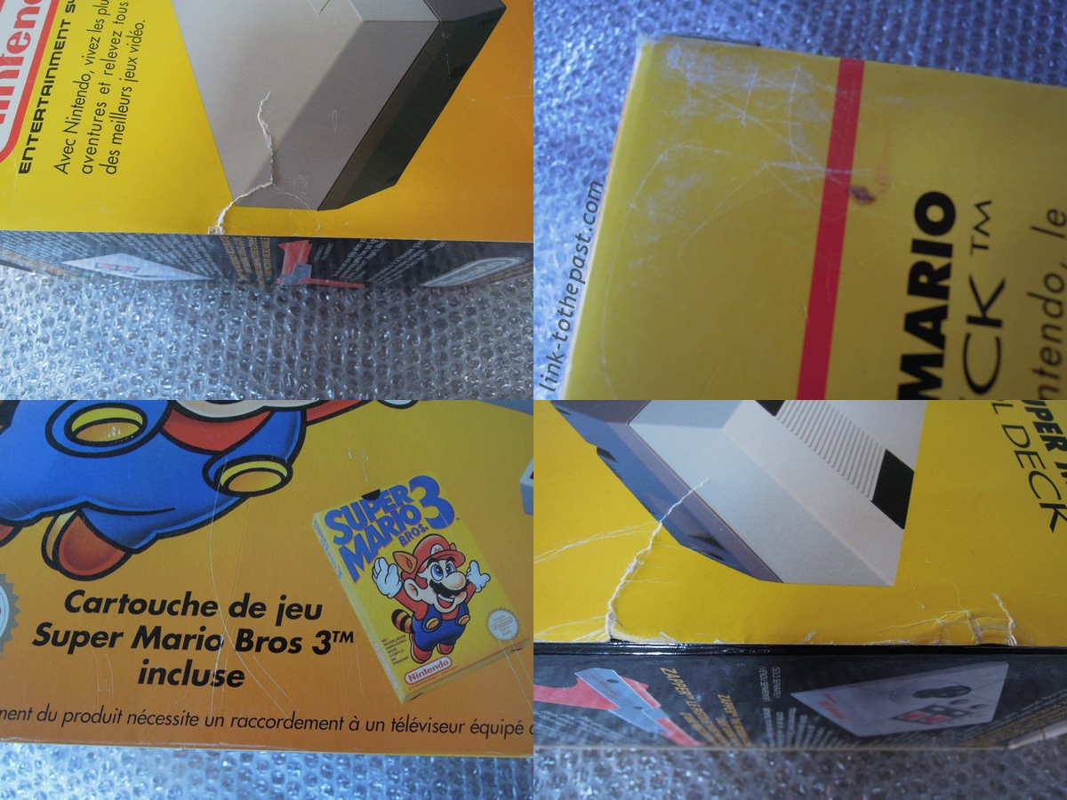 fourreau super mario bros 3 nes