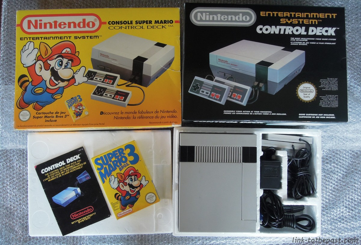 console nintendo nes pack mario 3 complet