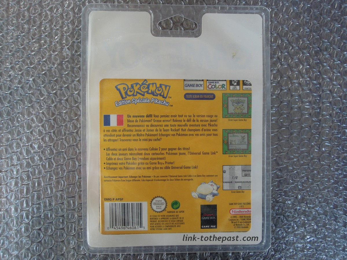 pokemon jaune blister
