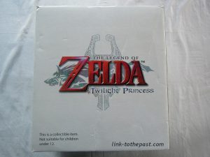 statue zelda twilight princess gold