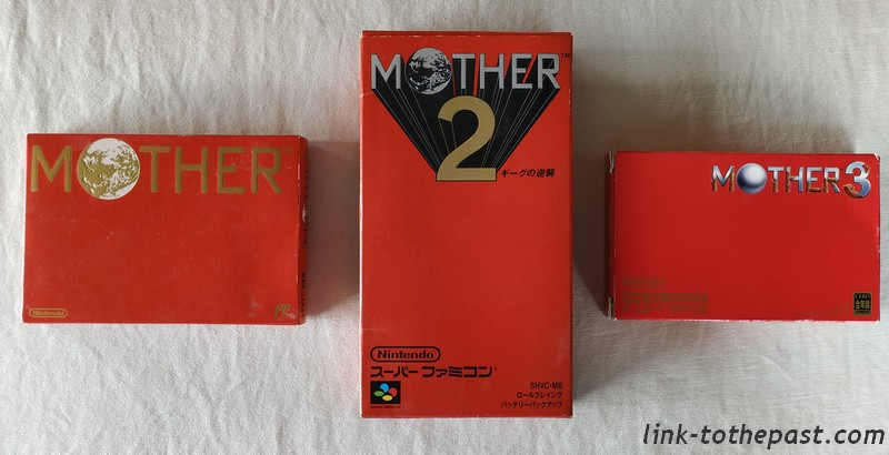 série RPG Mother 1 2 3