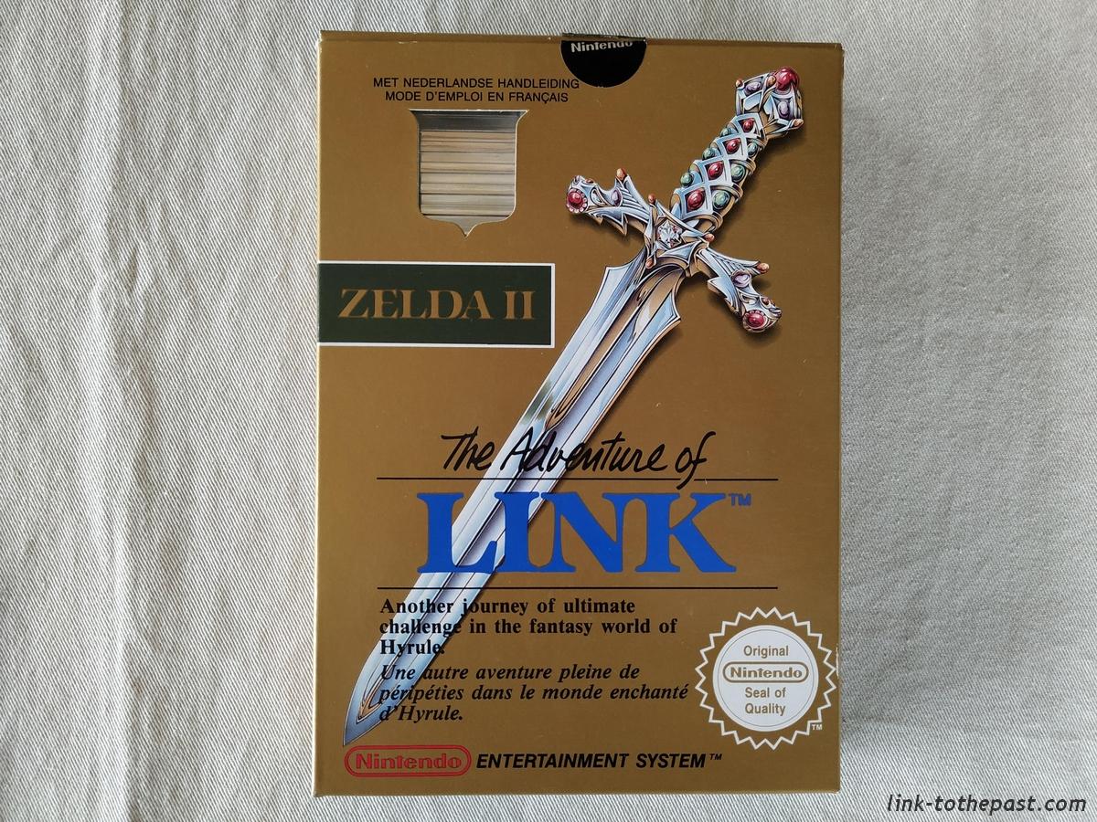 ZELDA II - The Adventure of LINK- NES - FAH- 1 sceau rond blanc - double scellé 1
