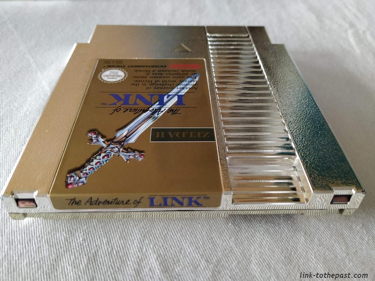 ZELDA II - The Adventure of LINK- NES - FAH- 1 sceau rond blanc - double scellé 17