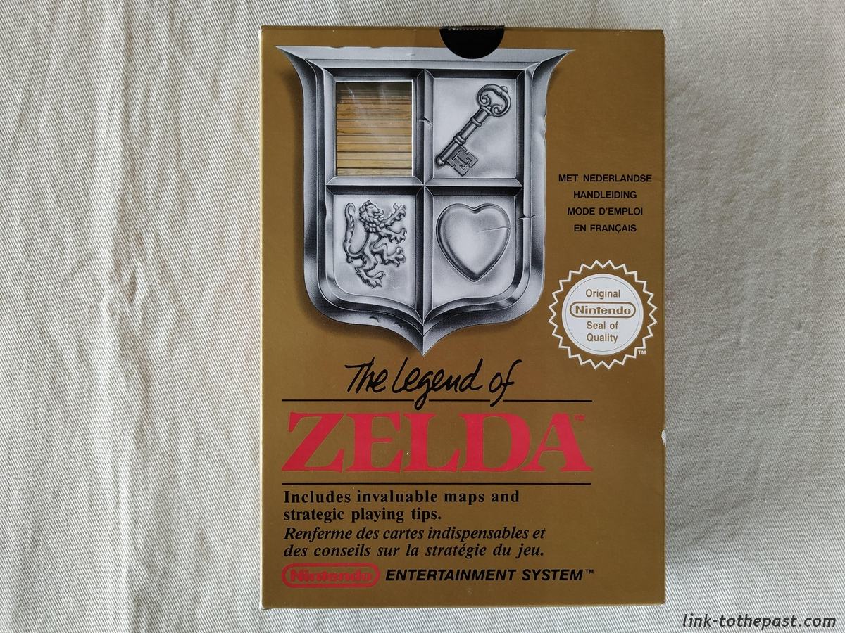 The Legend of Zelda - NES - FAH - Un sceau rond blanc 1