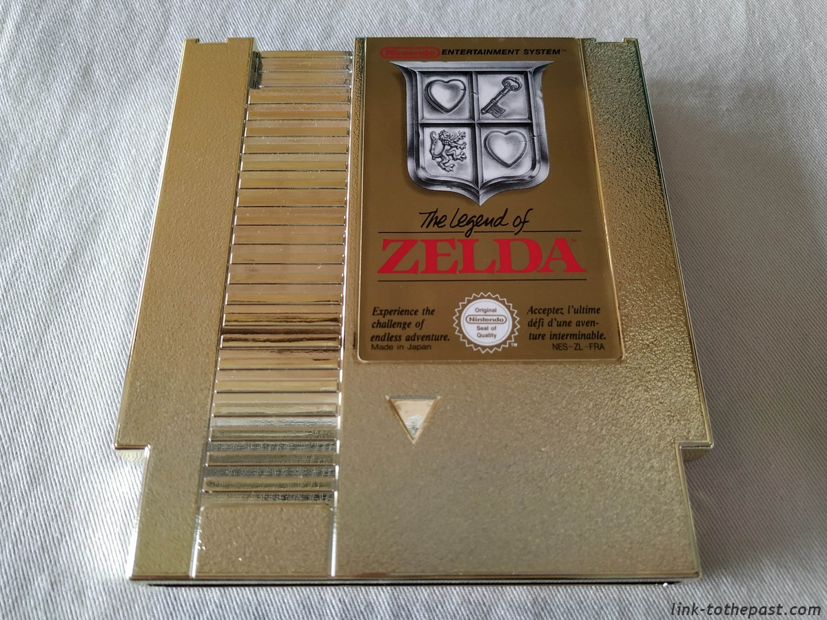 The Legend of Zelda - NES - FAH - Un sceau rond blanc 14