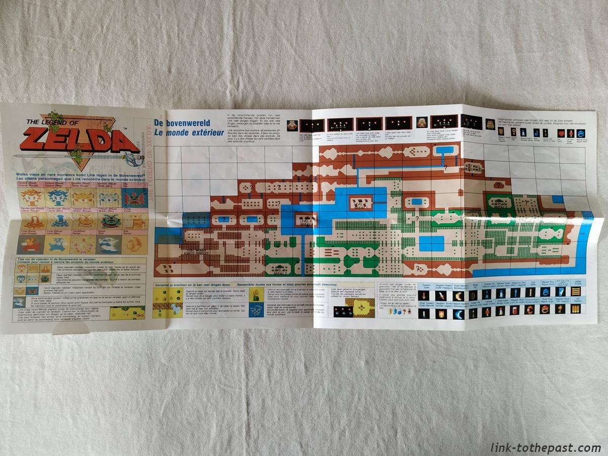 The Legend of Zelda - NES - FAH - Un sceau rond blanc 12