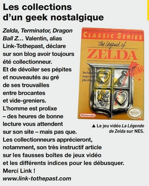 Link-tothepast Collectionneur Chineur