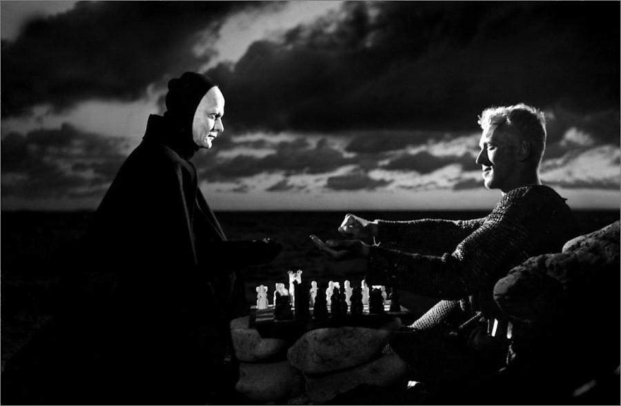 film Le septième sceau mort échecs