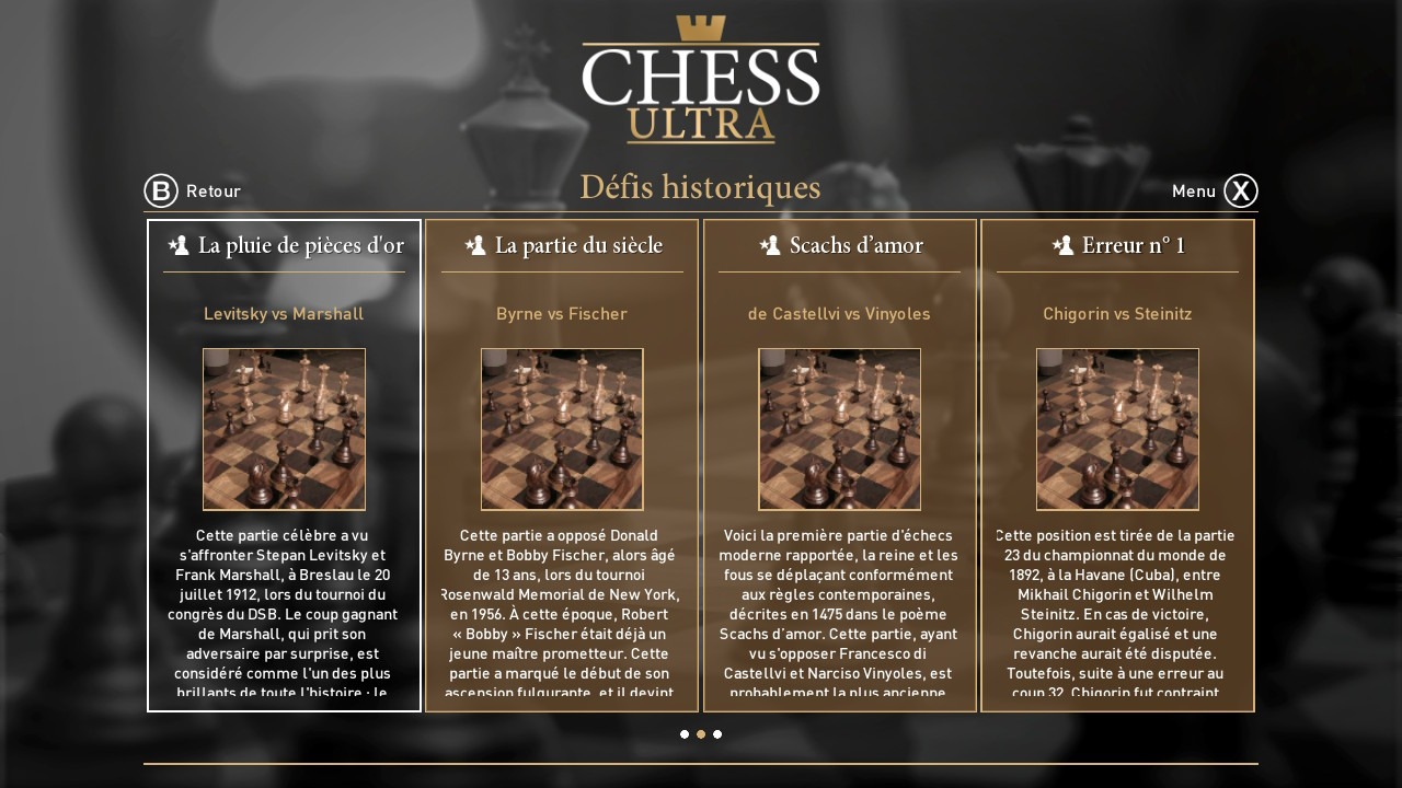 ultra chess historique