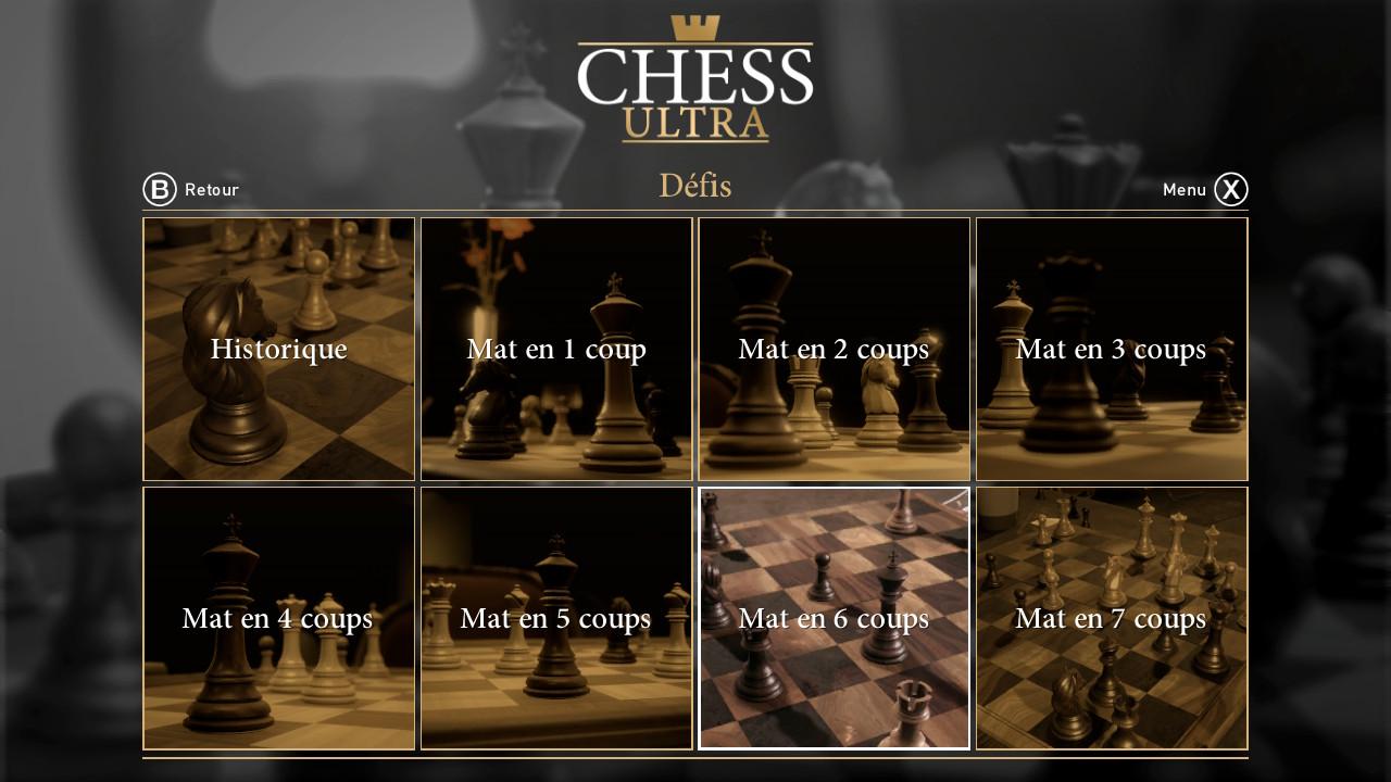ultra chess défis