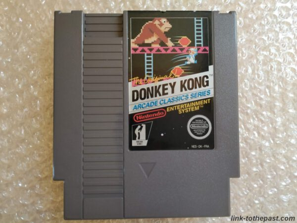 donkey kong arcade nintendo nes