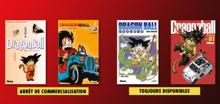 manga dragon ball glénat pastel