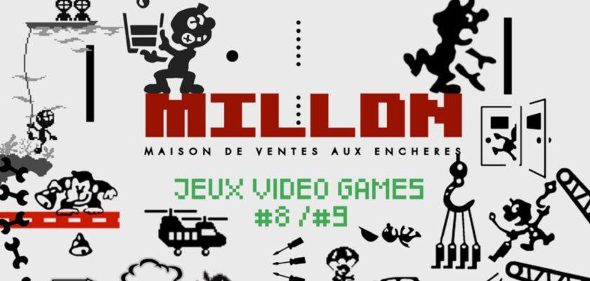 vente enchères jeux vidéo millon
